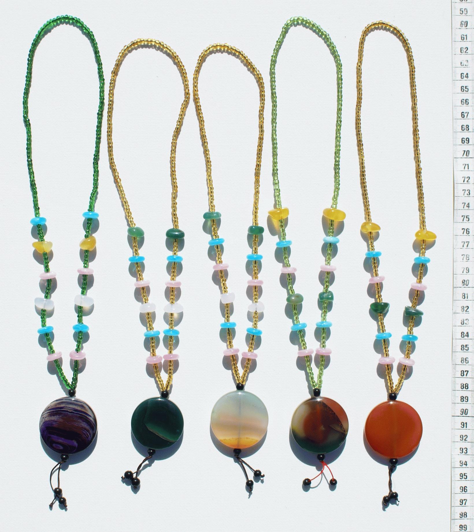 Collares de piedras artesanias del mundo - Piedras para collares ...