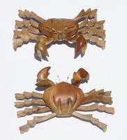 Cangrejos de madera