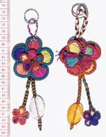 Llavero flor