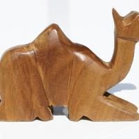 Camello sentado