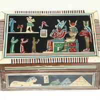 Caja egipcia