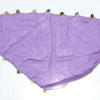 Pañuelo violeta para cabeza