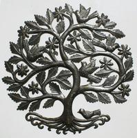Escultura de arbol de la vida