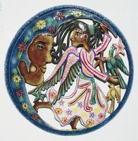 Angel con luna