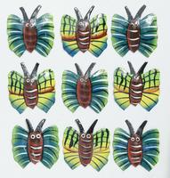 Imanes de mariposas