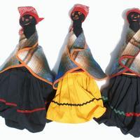 Munecas grandes de Lesoto