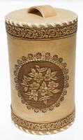 Caja de madera de abedul