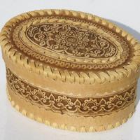 Caja con ornamento
