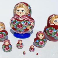 Munecas rusas, 9 unidades