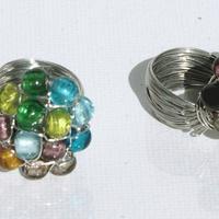 Anillos con cristales