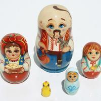 Muneca rusa hombre