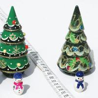 El arbol, Papa Noel y muñeco de nieve