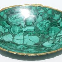 Plato ovalado de piedra