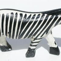 Zebra de madera