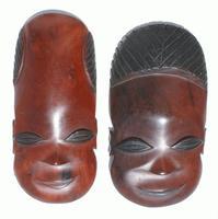 Pareja de mascaras
