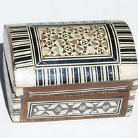 Caja pequena de madera