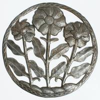 Decoracion de tres flores