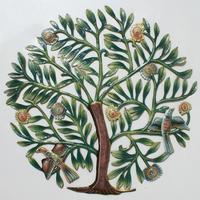 Arbol de la vida pintado