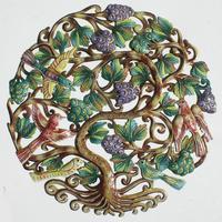 Arbol de la vida con uvas