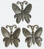 Mariposas de metal