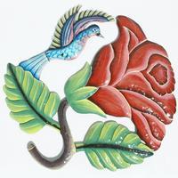 Colibri con la flor