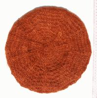 Gorra redonda naranja