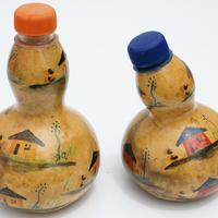 Botellas de calabaza
