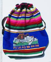 Étnica tibetana mochila
