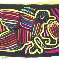 Mola con pajaro