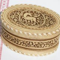 Caja decorativa con ciervo