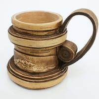 Vaso de madera