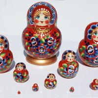 Muneca rusa de 10 unidades