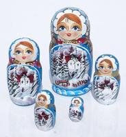 Muneca rusa del invierno