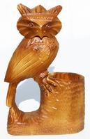 Buho en madera