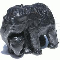 Elefantes de ceramica