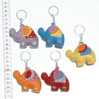 Llaveros de elefantes