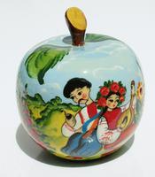 Caja de manzana