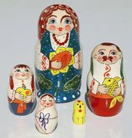Muneca familia ucraniana