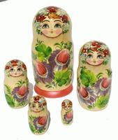 Muneca rusa, flores