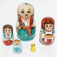 Muneca rusa, familia